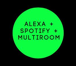 Alexa Multiroom Spotify